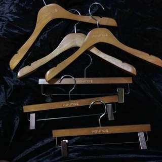 🎉 二手木衣架
