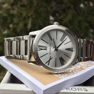 MK Hartman in Silver Tone Ladies Watch