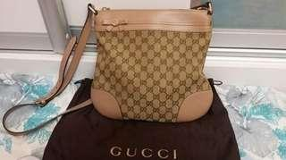 100% Authentic Branded  Preloved Gucci Messenger Bag