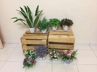 Bulk artificial plants/flower
