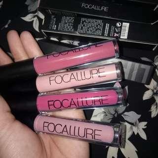 Focallure matte lips