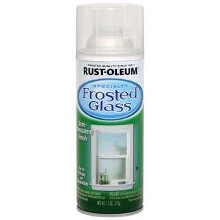 Rust Oleum Frosted Spray Can