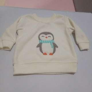 Carters sweater penguin 3m