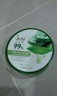 The Face Shop Jeju Aloe Fresh Soothing Gel 300ml (WITH SPECIAL FREE GIFT!!)