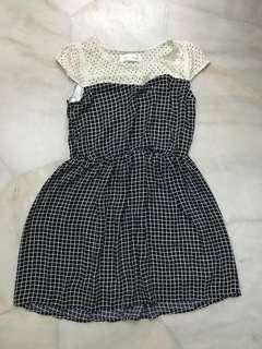 Sweet summer checked dress