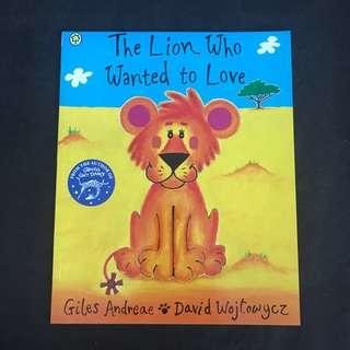 💥 NEW -  Intl Best Seller - The Lion Who Wanted To Love - Children Story Books