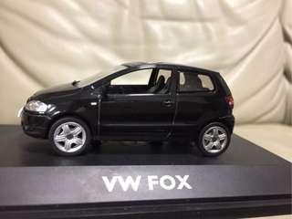 Schuco Limited Edition 1:43 Volkswagen FOX (black)