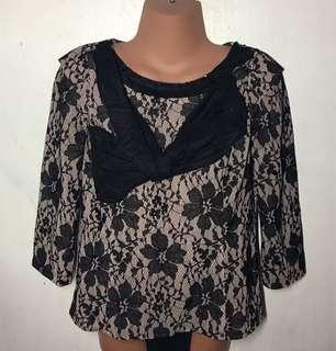Pre loved Laced Blouse