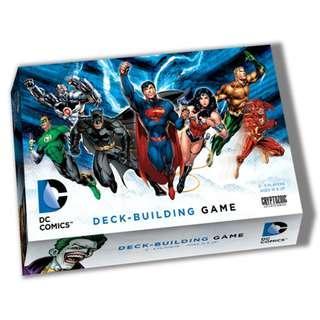 DC Comics Deck Building Game TCG DBG