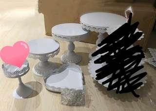 婚禮物資蛋糕層架