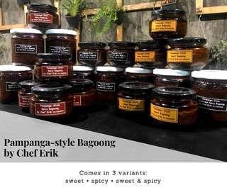 Homemade bagoong
