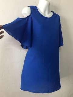 Open Shoulder blouse - BLUE Saiz: M/ L