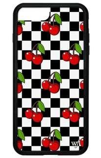 Wildflower checkered cherry case