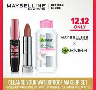 MAYBELLINE CLEAN SET MAKE UP