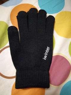 保暖手套 觸屏手套 男裝 全新 袋裝 touch screen gloves