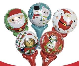 Handheld Balloons Xmas Christmas