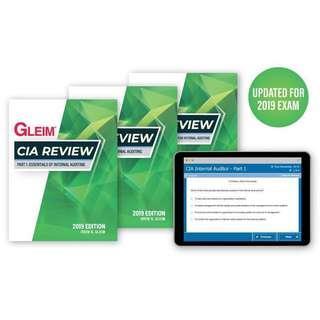 GLEIM CIA Review Test Bank Part 1 2018 & 2019 Edition