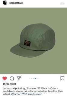 🚚 Carhartt 17ss military cap