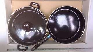 🚚 10吋平底鍋+淺湯鍋