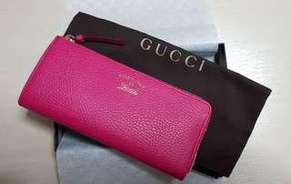BN Gucci long wallet with zip