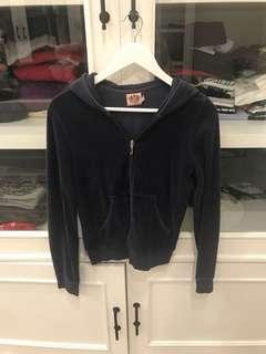 juicy couture navy blue jacket outer