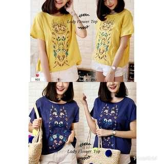 Ln FS 951 lady flower top
