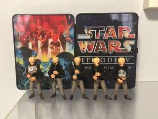 Star Wars modal nodes cantina band new hope exclusive tin collection
