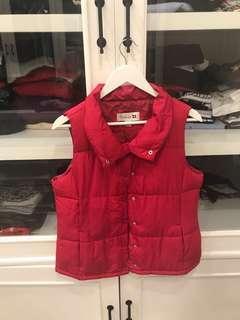 forever 21 winter bubble vest outer coat