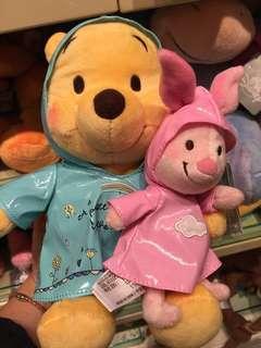 雨衣 Winnie the Pooh /chip & dale