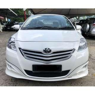 2010 Toyota Vios 1.5 G (A) One Owner TRD Bodykit Leather Seat Crystal White