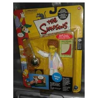 絕版 Playmates 阿森一族 The Simpsons Series 9 Disco STU action figure 1款