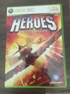 HEROES OVER EUROPE - Xbox 360 game