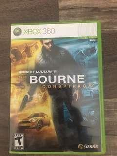 THE BOURNE CONSPIRACY- Xbox 360 game