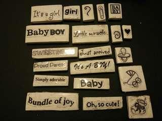 Stamp bundle baby theme