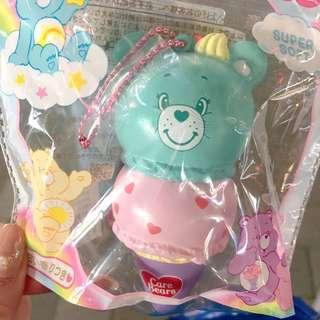 care bears Mint Green ice cream squishy mascot
