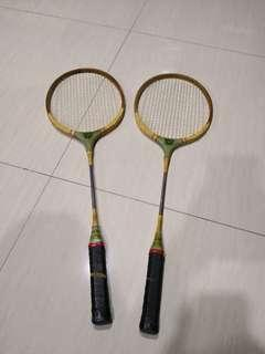 Deer brand badminton  racket 1970s