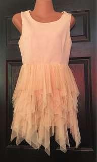 Pre loved Creme Tutu Inspired Dress