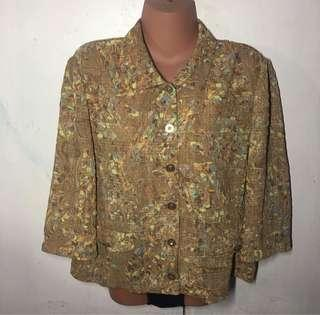 Pre loved Plus size Printed Blouse