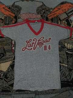 Vintage rayon 15 shirt las vegas 84