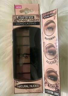 Beauty Concepts Natural Nudes Eyeshadow Palette