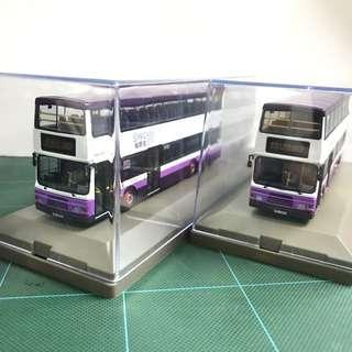 Model 1 愉景灣Volvo Olympian 12m DBAY215 DBAY216巴士