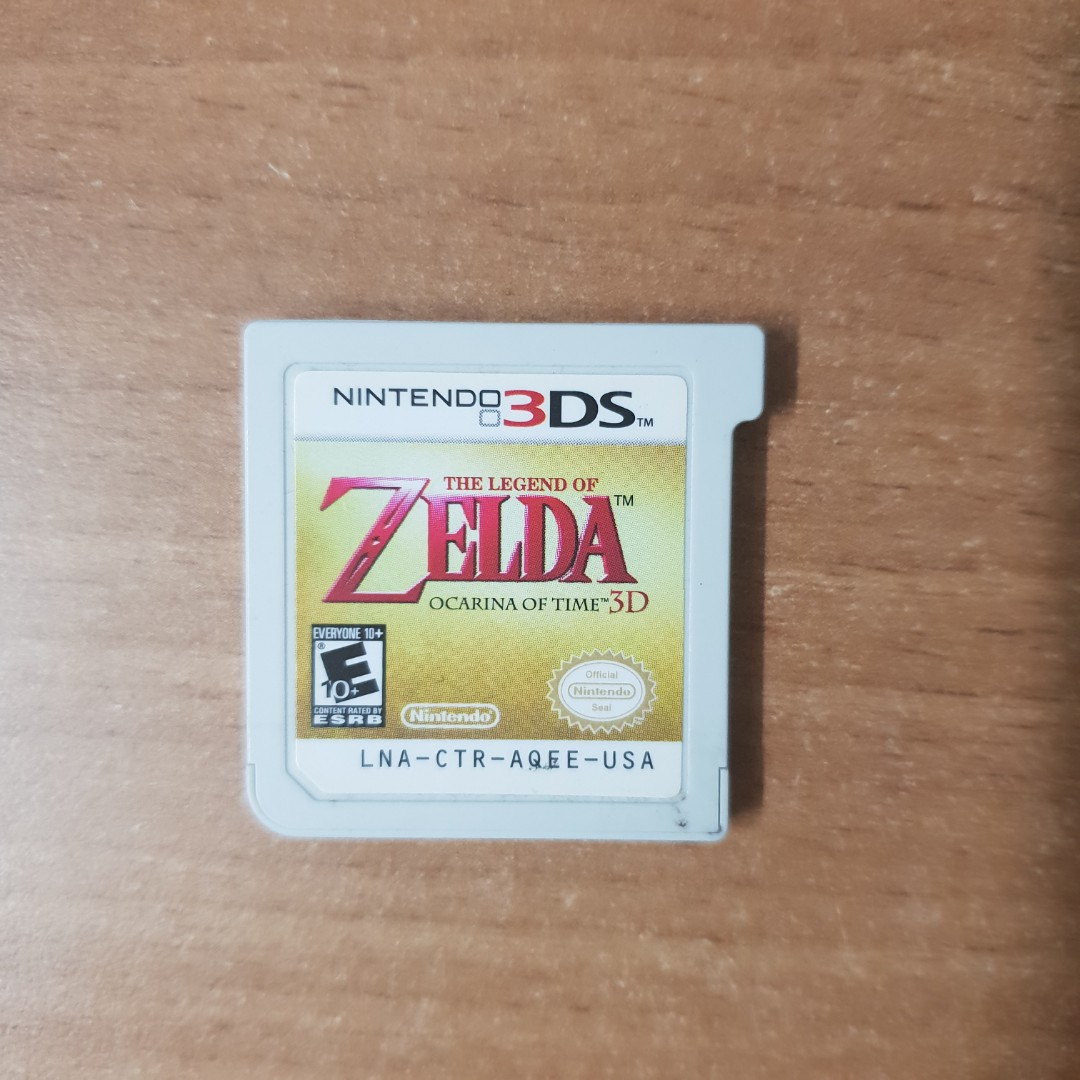 3ds zelda orcarina of time 3d (no box)