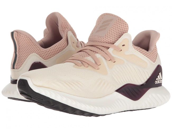 df7d97473 Adidas Alphabounce Beyond Knit shoes White Cream Pink