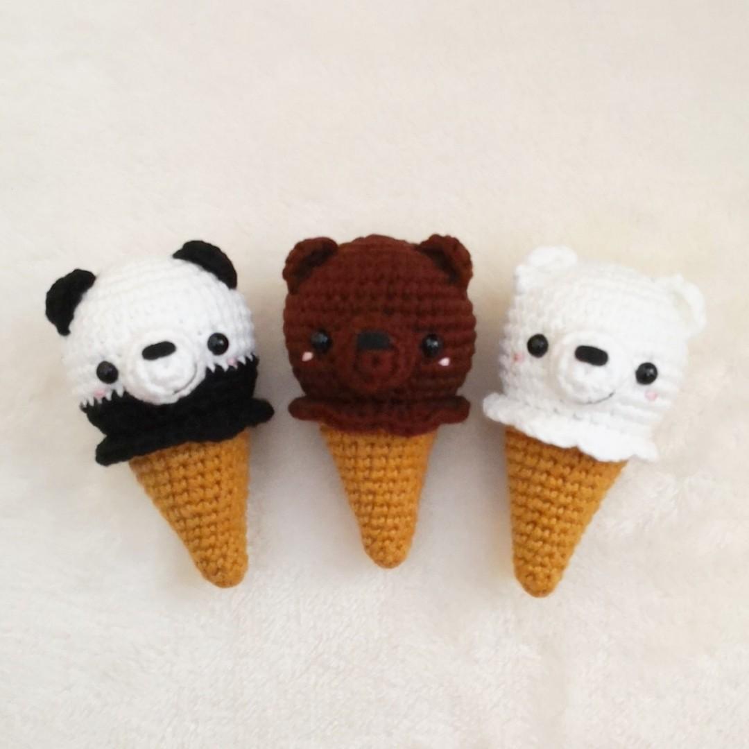 PDF Мы Медведи. FREE amigurumi crochet pattern. Бесплатный мастер ... | 1080x1080
