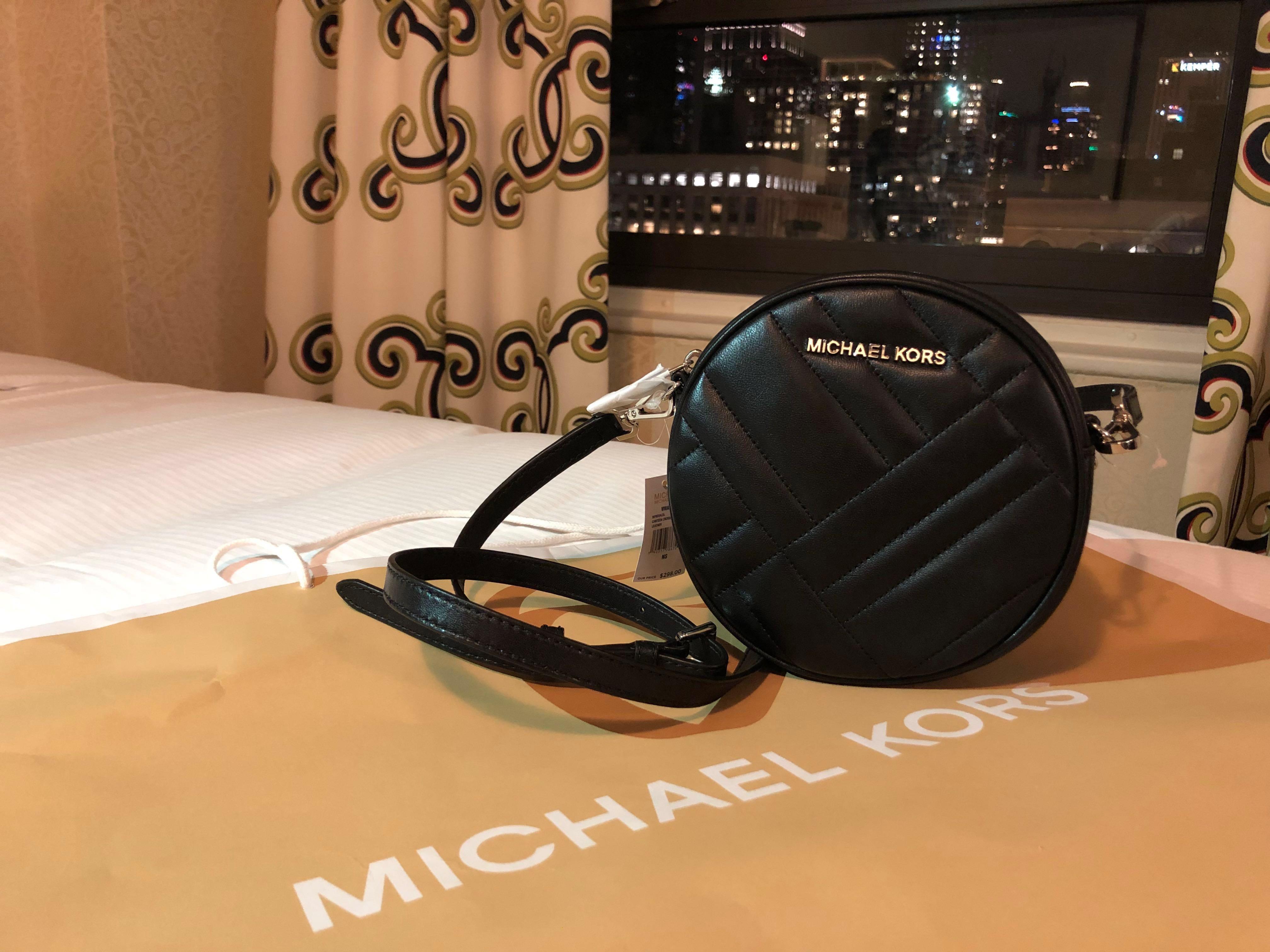 c1e1ffcde32d Authentic   New) Michael Kors crossbody   sling - Vivianne Edition ...