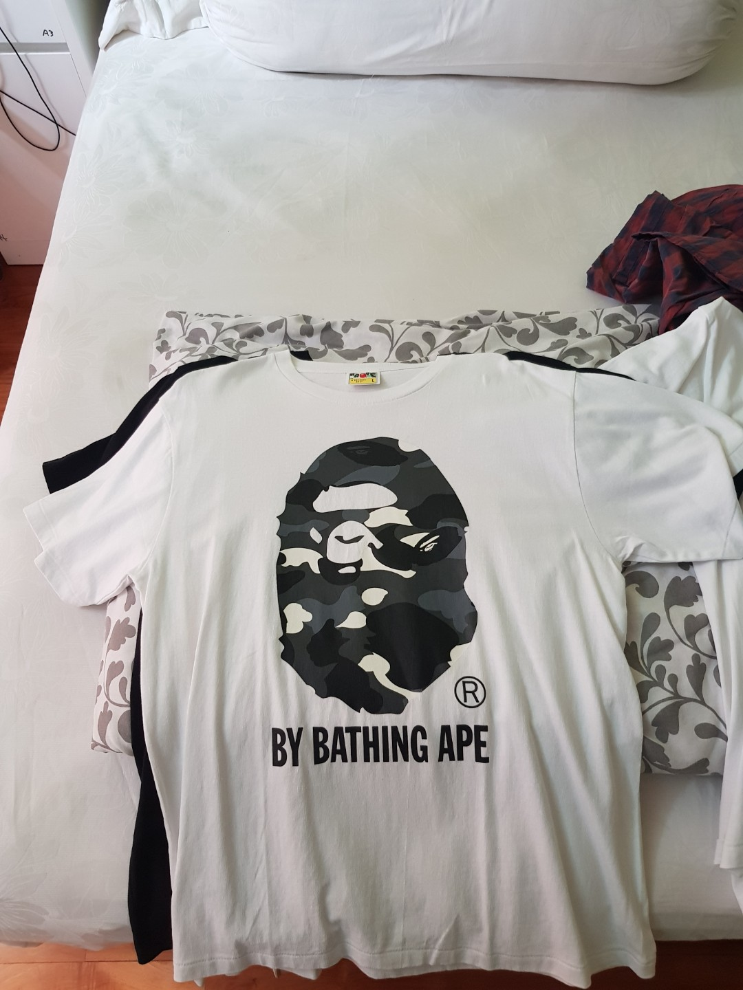 2537e5a0 Authentic Bathing Ape shirts Size L, Men's Fashion, Clothes, Tops on ...