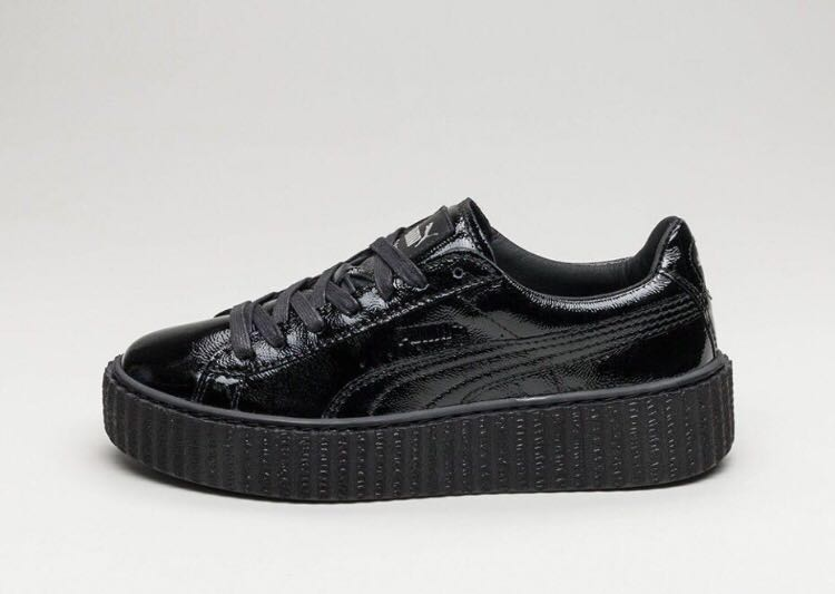 wholesale dealer c14d2 03e78 Authentic Fenty Puma Black Creepers