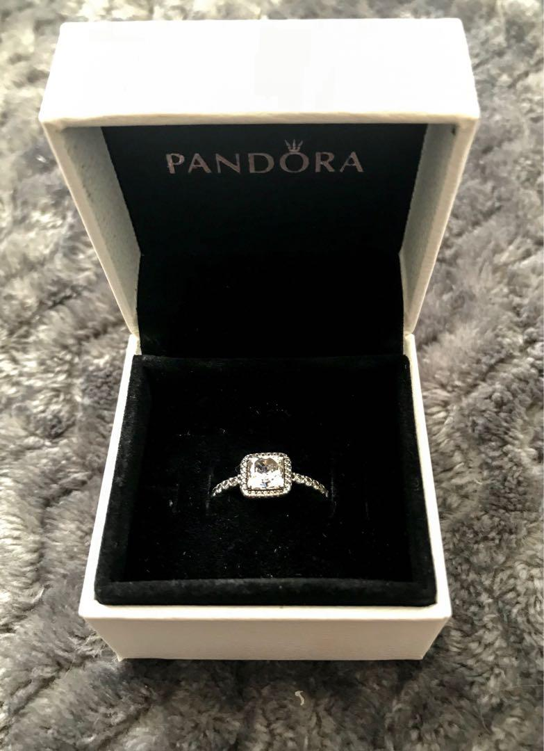 "Authentic Pandora ""Timeless Elegance"" Ring"