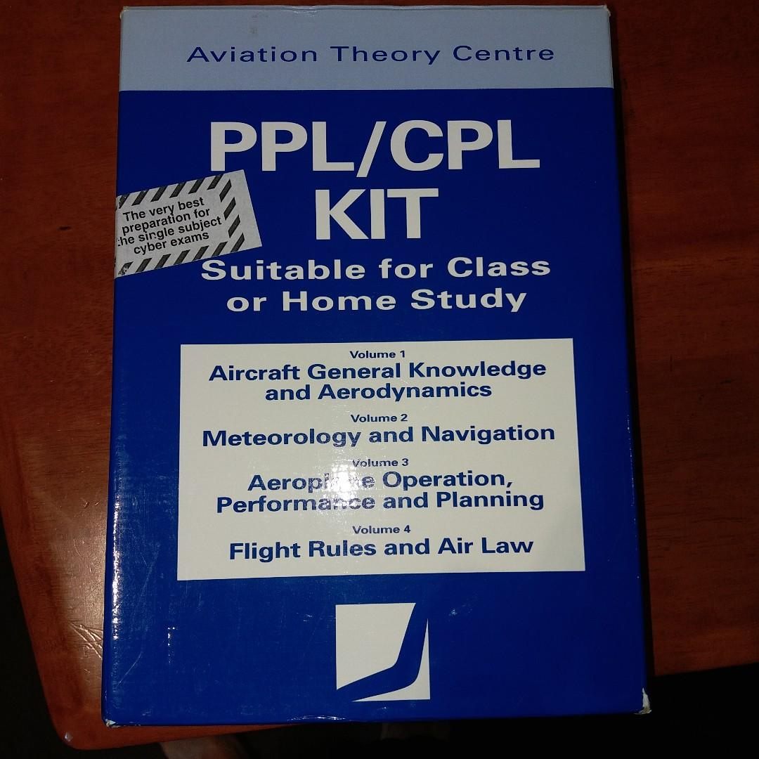 Aviation Theory Centre PPL/CPL study kit - excellent condition