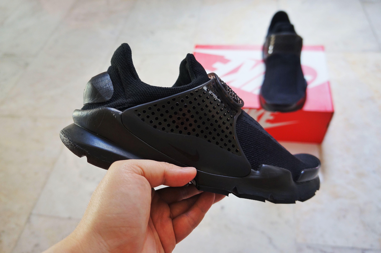 brand new 5f06a 74fbd BNIB) Nike Sock Dart KJCRD TRIPLE BLACK Men s US8 UK7 EU41, Men s ...